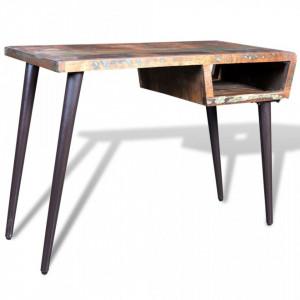 Birou din lemn reciclat cu picioare de fier - V241138V