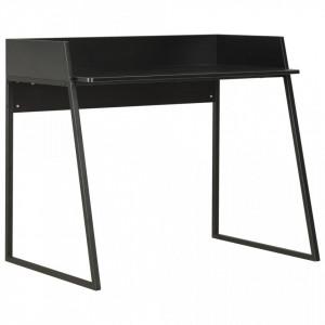 Birou, negru, 90 x 60 x 88 cm - V20268V