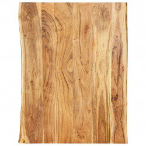 Blat de masa, 80x60x2,5 cm, lemn masiv de acacia - V286329V