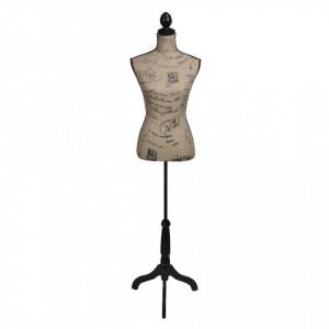 Bust pentru dame, maro&negru, manechin feminin croitorie, iuta - V30029V