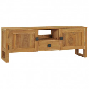 Comoda TV, 120 x 32 x 45 cm, lemn masiv de tec - V288845V
