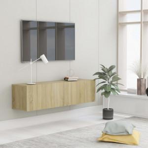 Comoda TV, stejar Sonoma, 120 x 30 x 30 cm, PAL - V801493V