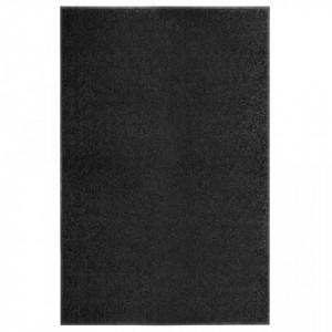 Covoras de usa lavabil, negru, 120 x 180 cm - V323414V