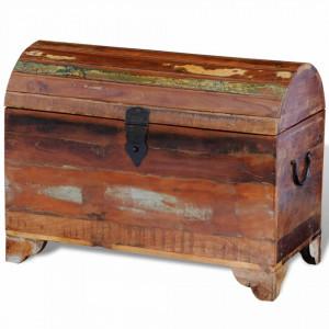 Cufar de depozitare din lemn masiv reciclat - V241645V