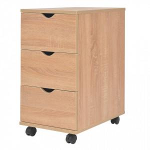 Dulap cu sertare, 33 x 45 x 60 cm, stejar - V245725V