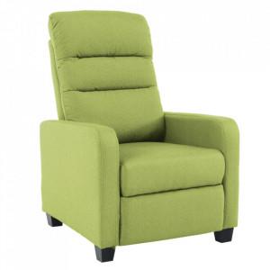 Fotoliu relaxant, verde, TURNER