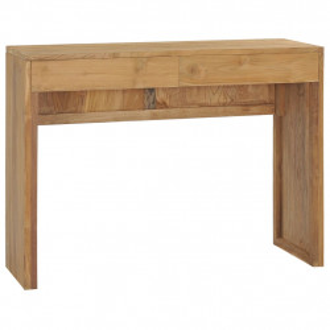 Masa consola, 100 x 35 x 75 cm, lemn masiv de tec - V288842V