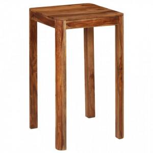 Masa de bar, 60 x 60 x 107 cm, lemn masiv de palisandru - V246258V