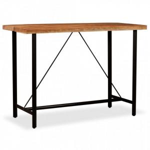 Masa de bar, lemn masiv de acacia, 150 x 70 x 107 cm - V245437V