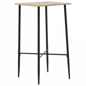 Masa de bar, stejar, 60 x 60 x 111 cm, MDF - V281551V