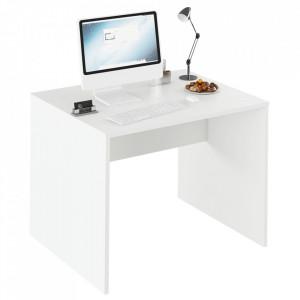 Masă de birou, alb, RIOMA TYP 12