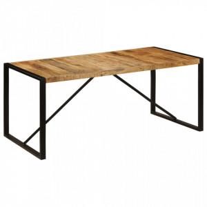 Masa de bucatarie, lemn masiv de mango nefinisat, 180 cm - V243997V