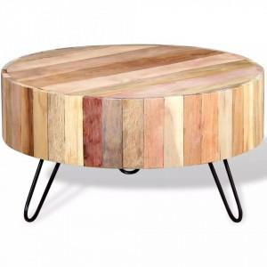 Masa de cafea din lemn reciclat de esenta tare - V244237V