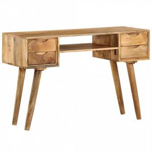 Masa de scris, 115 x 47 x 76 cm, lemn masiv de mango - V246791V