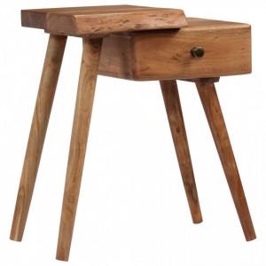 Noptiera din lemn masiv de acacia, 45 x 32 x 55 cm - V245662V
