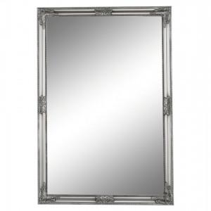 Oglindă, cadru argintiu din lemn, MALKIA TIP 11