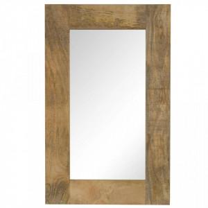 Oglinda, lemn masiv de mango, 50 x 80 cm - V246302V