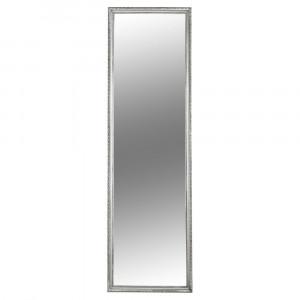 Oglindă, ramă argintie din lemn, MALKIA TYP 3