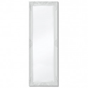 Oglinda verticala in stil baroc, 140 x 50 cm, alb - V243687V