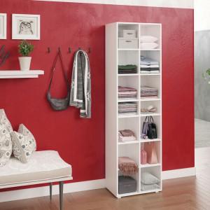 OSRA3 - Rafturi 52 cm, birou, biblioteca, living, hol, dressing - Alb