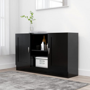 Servanta, negru, 120 x 30,5 x 70 cm, PAL - V802778V