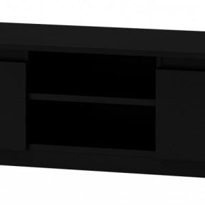 TECOTVN105 - Comoda TV 120 x 40 x 36 cm, Negru-Mat