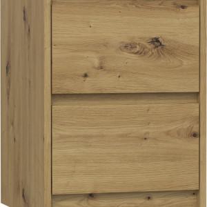 TENOAR104 - Noptiera 40 x 43 x 55 cm, Stejar Artisan