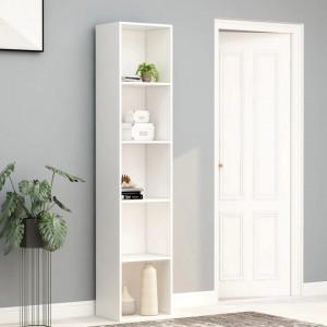 Biblioteca, alb, 40 x 30 x 189 cm, PAL - V800954V