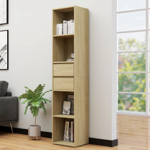 Biblioteca, stejar Sonoma, 36 x 30 x 171 cm, PAL - V802870V
