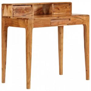 Birou de lucru cu sertare, lemn masiv, 88 x 50 x 90 cm - V244959V