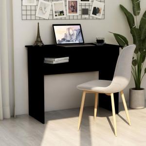Birou, negru, 90 x 50 x 74 cm, PAL - V801171V