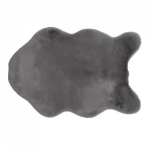 Blană artificială, gri, 60x90, RABIT TYP 3
