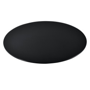 Blat sticla masa AAGB 8707, 900 x 8 mm, ESG sticla securizata, negru - P61988442