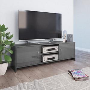 Comoda TV, gri extralucios, 120 x 30 x 37,5 cm, PAL - V800287V