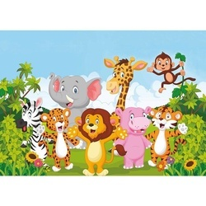 Covor camera copiilor 130x200 cm, multicolor, XANDER