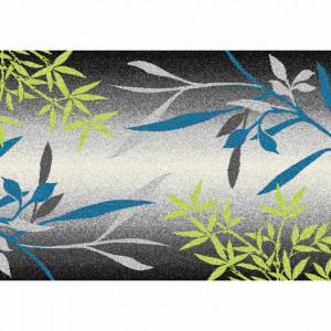 Covor, model frunze, multicolor, 67x120, TASNIM
