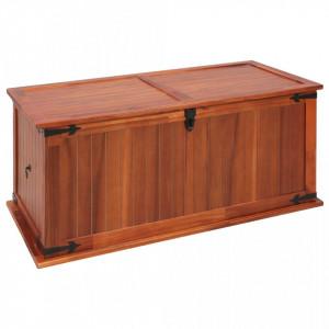 Cufar de depozitare, 79 x 34 x 32 cm, lemn masiv de salcam - V247241V