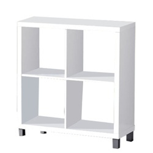 Dulap biblioraft, alb, TOFI 2 NEW