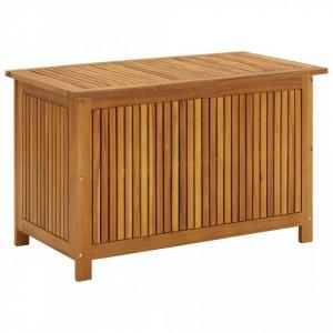 Lada de depozitare gradina, 90x50x106 cm, lemn masiv de acacia - V310282V