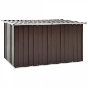 Lada de depozitare pentru gradina, maro, 171 x 99 x 93 cm - V46272V
