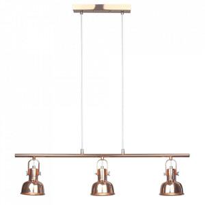 Lampă suspendată în stil retro, metal, roz auriu, AVIER TIP 4