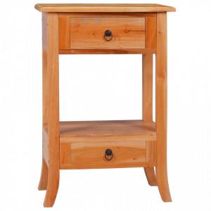 Masa consola, 50 x 30 x 75 cm, lemn masiv de mahon - V288876V