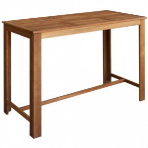 Masa de bar, lemn masiv de salcam, 150 x 70 x 105 cm - V246665V