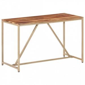 Masa de bucatarie, 120 x 60 x 76 cm, lemn masiv de sheesham - V286337V