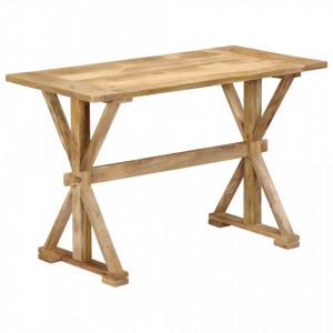 Masa de bucatarie, 140x70x76 cm, lemn masiv de mango - V247592V