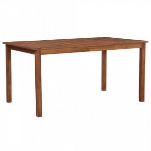 Masa de gradina, 150 x 90 x 74 cm, lemn masiv de acacia - V44105V