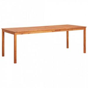 Masa de gradina, 215 x 90 x 74 cm, lemn masiv de acacia - V45963V