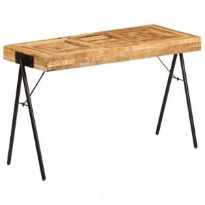Masa de scris, 118 x 50 x 75 cm, lemn masiv de mango - V246338V
