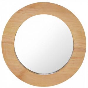 Oglinda de perete, 40 cm, tec, rotund - V288805V