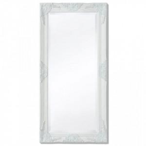 Oglinda verticala in stil baroc, 100 x 50 cm, alb - V243679V